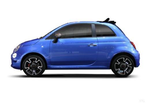 Fiat 500 C 1.3 16V Multijet Start&Stopp (seit 2016) Seite links