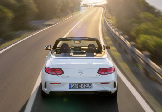 Mercedes-Benz AMG C 43 Cabrio 4Matic 9G-TRONIC (2016-2016) Heck