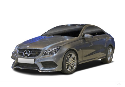 Mercedes-Benz E 200 Coupe 7G-TRONIC (2015-2015) Front + links