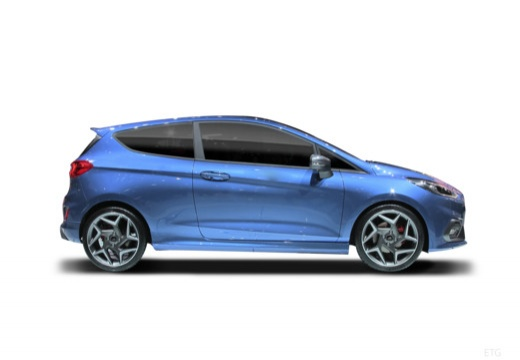 Ford Fiesta 1.1 (seit 2017) Seite rechts