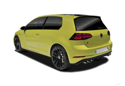 VW Golf 1.0 TSI BlueMotion Technology (seit 2017) Heck + links