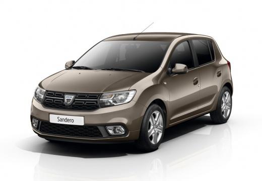 Dacia Sandero SCe 75 (seit 2016) Front + links