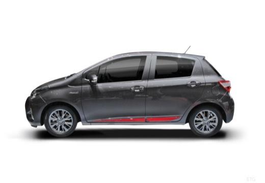 Toyota Yaris Hybrid 1.5 VVT-i (seit 2017) Seite links