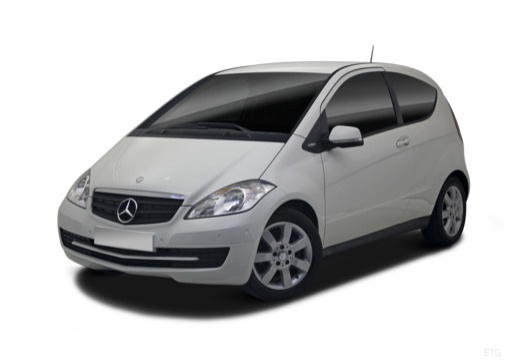 Mercedes-Benz A 170 (2008-2009) Front + links