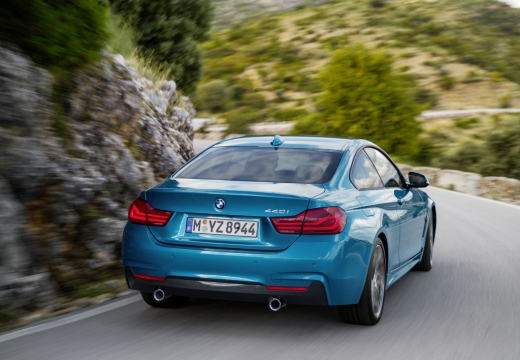 BMW 430i Gran Coupe (seit 2016) Heck + rechts