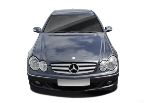 Mercedes-Benz CLK Coupe 500 7G-TRONIC (2006-2009) Front