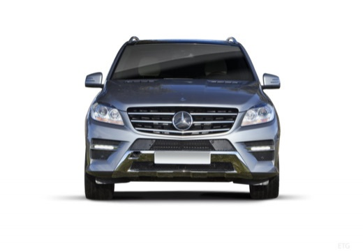Mercedes-Benz ML 500 4MATIC BlueEFFICIENCY 7G-TRONIC (2012-2015) Front