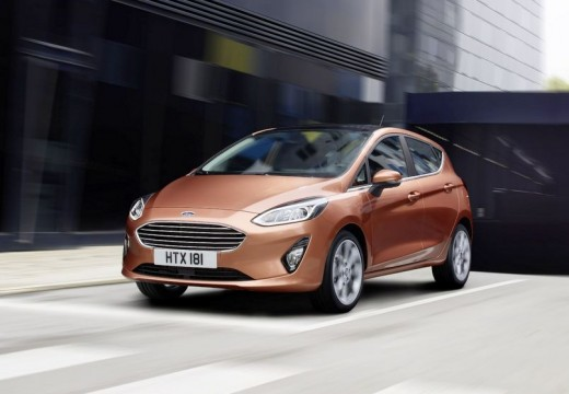 Ford Fiesta 1.0 EcoBoost Powershift (seit 2013) Front + links