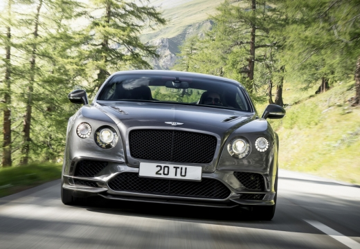 Bentley Continental Supersports (2017-2017) Front