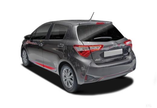 Toyota Yaris Hybrid 1.5 VVT-i (seit 2017) Heck + links