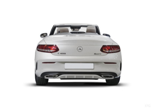 Mercedes-Benz AMG C 43 Cabrio 4Matic 9G-TRONIC (2017-2017) Heck