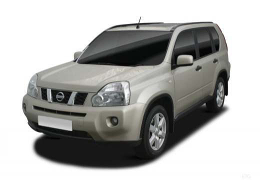 Nissan X-Trail 2.0 dci 4x4 DPF (2007-2009) Front + links