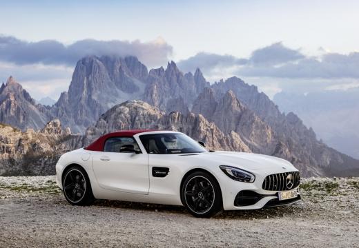 Mercedes-Benz AMG GT Roadster AMG Speedshift 7G-DCT (2016-2016) Front + rechts