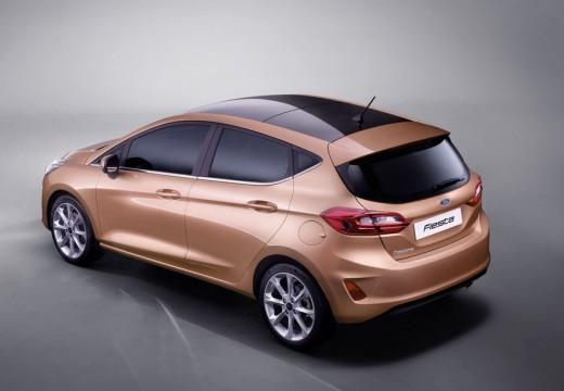 Ford Fiesta 1.0 EcoBoost Powershift (seit 2013) Heck + links