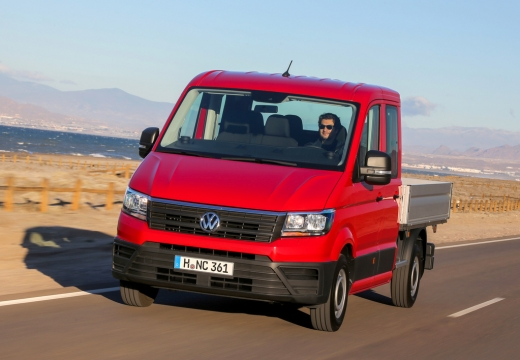 VW Crafter 35 TDI (2016-2016) Front + links