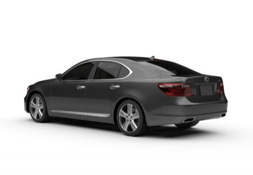 Lexus LS 460 AWD (2010-2012) Heck + links