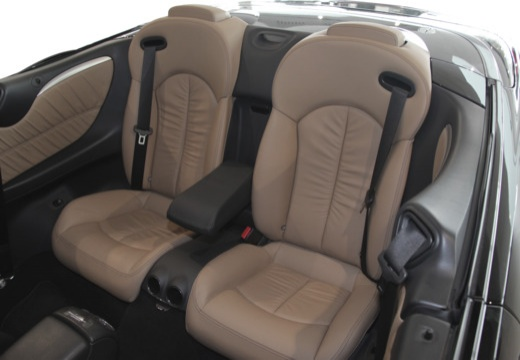 Mercedes-Benz CLK Cabrio 500 7G-TRONIC (2006-2009) Innenraum