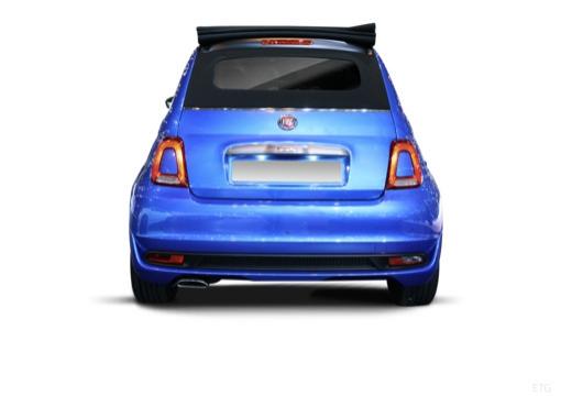 Fiat 500 C 1.3 16V Multijet Start&Stopp (seit 2016) Heck