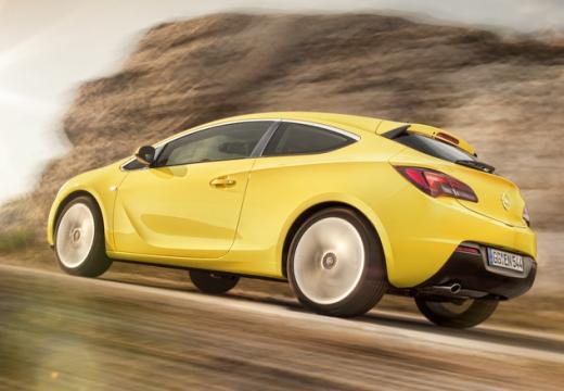 Opel Astra GTC 1.4 Turbo (2016-2016) Heck + links
