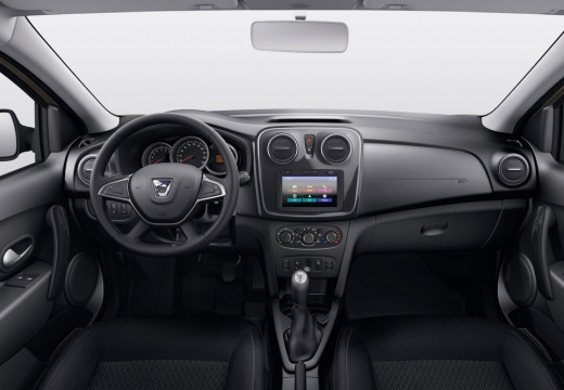 Dacia Sandero SCe 75 (seit 2016) Armaturenbrett