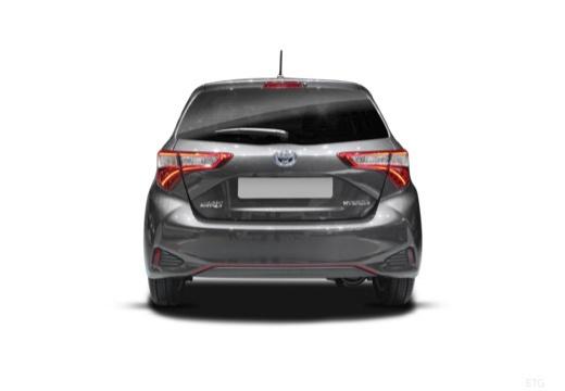 Toyota Yaris Hybrid 1.5 VVT-i (seit 2017) Heck