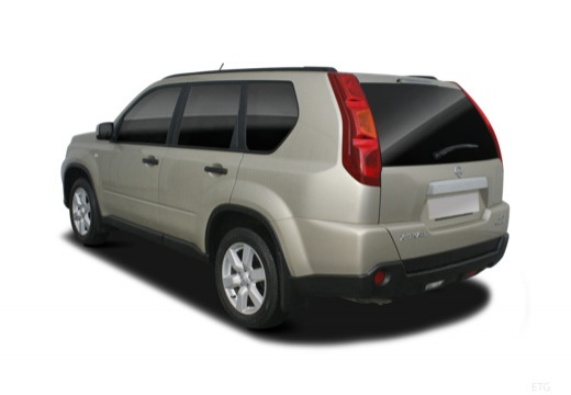 Nissan X-Trail 2.0 4x4 (2007-2010) Heck + links