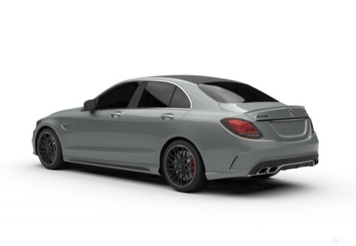 Mercedes-Benz AMG C 43 4Matic 9G-TRONIC (2016-2016) Heck + links