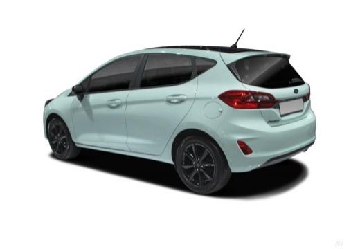 Ford Fiesta 1.5 TDCi (seit 2017) Heck + links