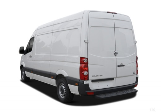 VW Crafter 30 TDI (2016-2016) Heck + links