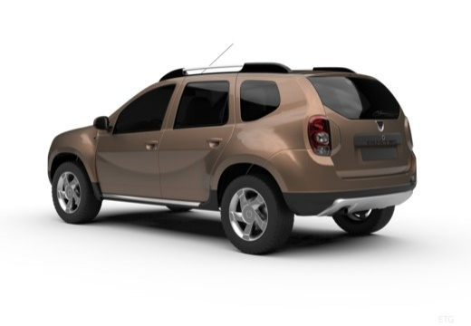 Dacia Duster dCi 90 FAP 4x2 (2012-2012) Heck + links