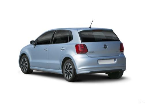 VW Polo 1.4 TSI ACT (2014-2017) Heck + links