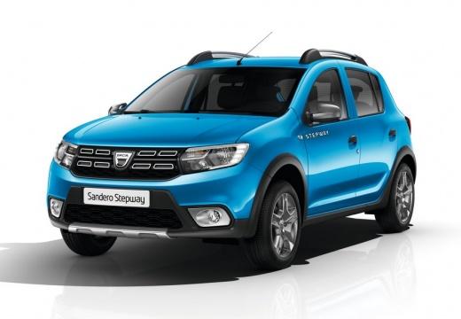 Dacia Sandero Stepway TCe 90 S&S (seit 2016) Front + links
