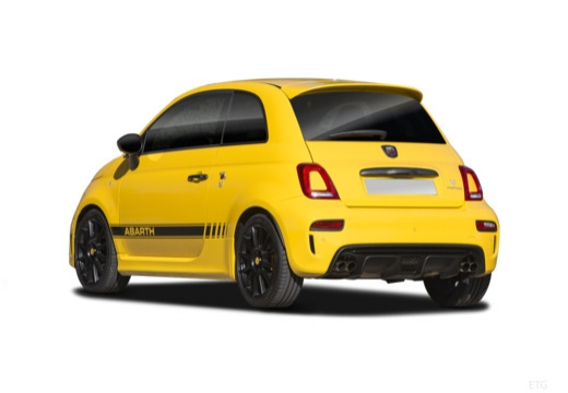 Fiat 595 (2016-2016) Heck + links