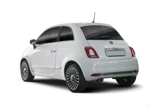 Fiat 500 1.3 16V Multijet Start&Stopp (seit 2016) Heck + links