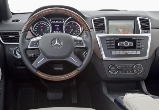 Mercedes-Benz ML 500 4MATIC BlueEFFICIENCY 7G-TRONIC (2012-2015) Armaturenbrett