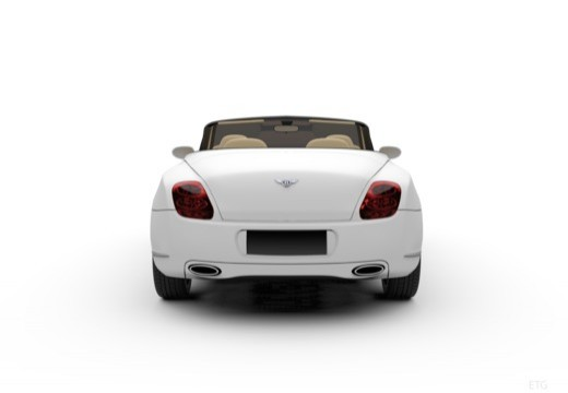 Bentley Continental GTC Speed (2009-2011) Heck