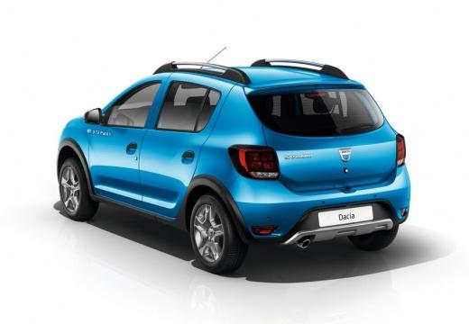 Dacia Sandero Stepway TCe 90 S&S (seit 2016) Heck + links