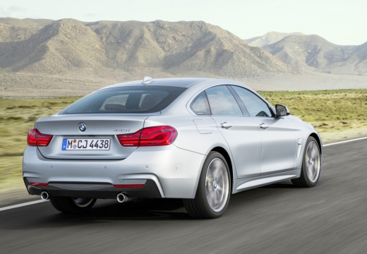 BMW 430i Gran Coupe (seit 2016) Heck + links