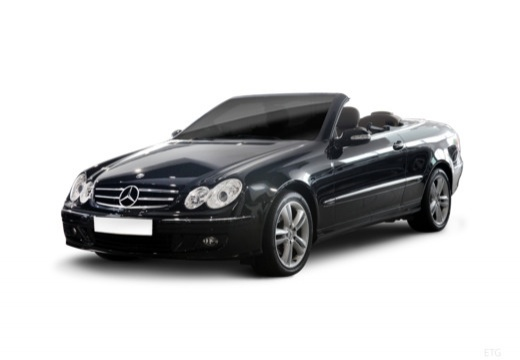 Mercedes-Benz CLK Cabrio 500 7G-TRONIC (2006-2009) Front + links