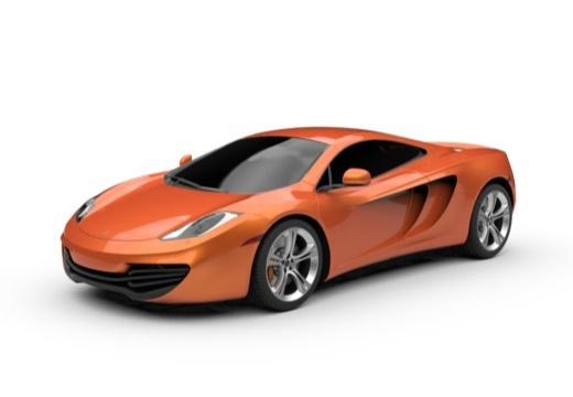 McLaren 650S Coupe (2014-2014) Front + links