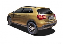 Mercedes-Benz GLA 250 (seit 2017) Heck + links