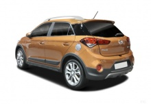 Hyundai i20 blue 1.0 Active (seit 2016) Heck + links