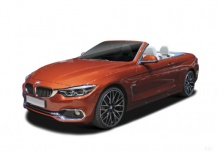 BMW 435d Cabrio xDrive Aut. (seit 2017) Front + links