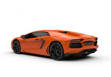 Lamborghini Aventador LP 700-4 (2015-2015) Heck + links