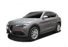 Alfa Romeo Stelvio 2.0 Turbo 16V AT8-Q4 (seit 2017) Front + links