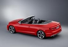 Audi S5 Cabrio 3.0 TFSI quattro tiptronic (2016-2016) Aufsicht Heck