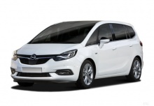 Opel Zafira 1.4 Turbo (seit 2016) Front + links