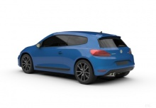 VW Scirocco 1.4 TSI BlueMotion Technology (2016-2016) Heck + links