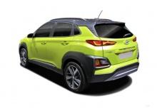 Hyundai Kona 1.0 T-GDI (seit 2017) Heck + links