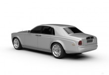Rolls-Royce Phantom (2012-2016) Heck + links